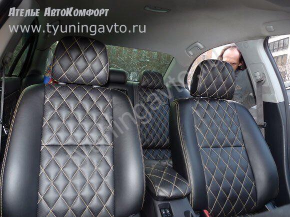 Как перешить сиденье авто своими руками